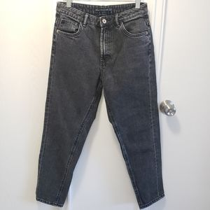 Zara black/grey denim jeans
